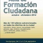 Talleres subvencionados del Ayuntamiento de Málaga