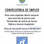 Oferta de empleo en Almogía
