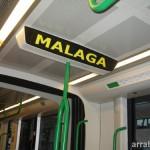 Vagón del Metro de Málaga