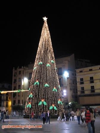 arbol de navidad Malaga 2006