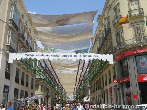 Foto de la calle Marques de Larios en la Feria 2010