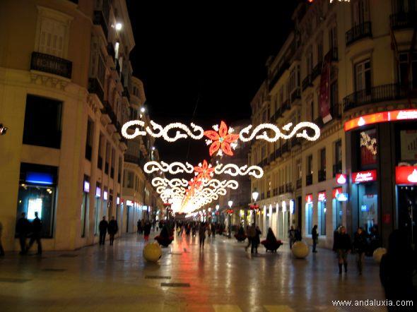 Calle Larios en la Navidad Málaga 2006