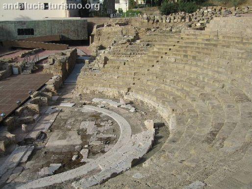 Gradas-Cavea Malaga Roman Theatre