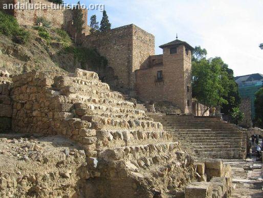 Alcazaba y Teatro Romano de Malaga