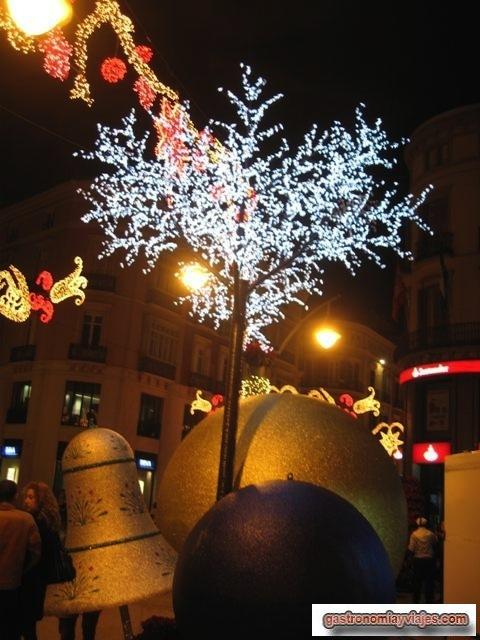 arboles de Navidad en Malaga