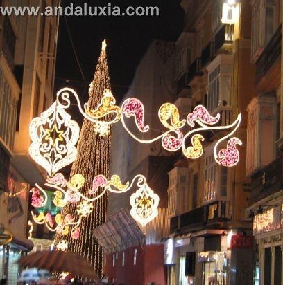 Sapin de Noël à Malaga