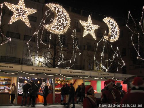 Plaza Bibrambla en navidad