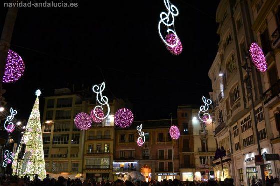 Arbol de Navidad de Malaga