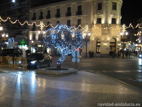 Granaillo de Granada en navidad