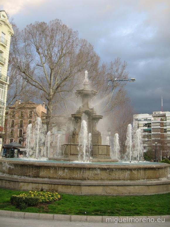 Fuente de las Batallas en Granada