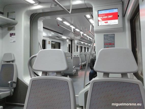 Tren de Cercanias Málaga-Fuengirola