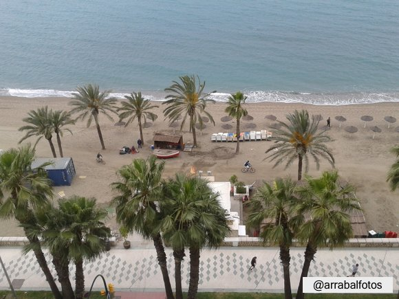 Paseo Playa de la Malagueta, Málaga