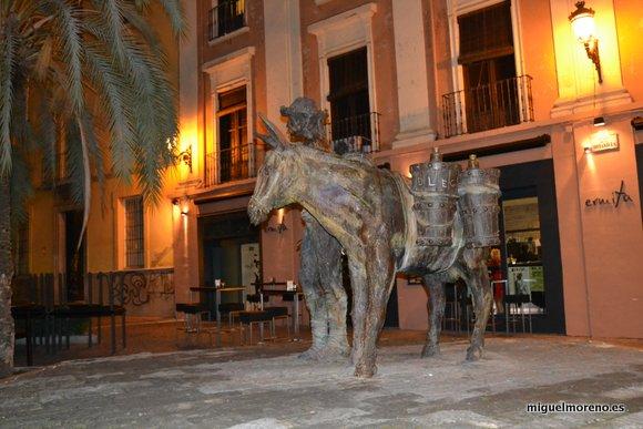 Estatua del Aguador de Granada