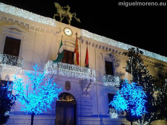 Alumbrado de Navidad de Granada - Ayuntamiento