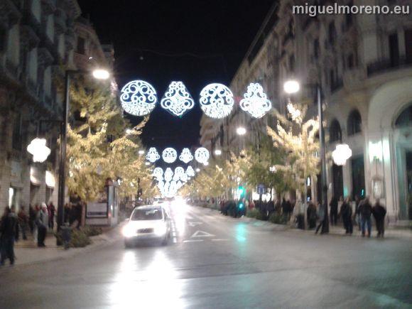 Alumbrado de Navidad de Granada - Gran Via