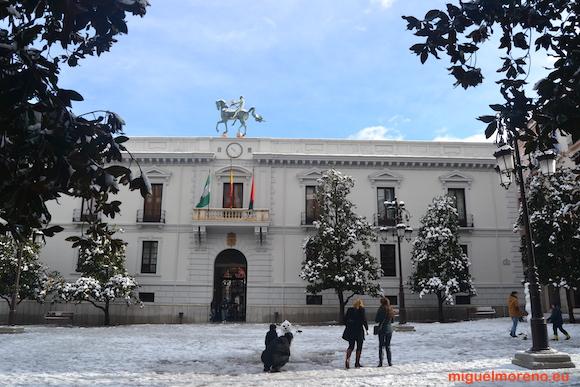 Ayuntamiento de Granada - Nevadas 2013