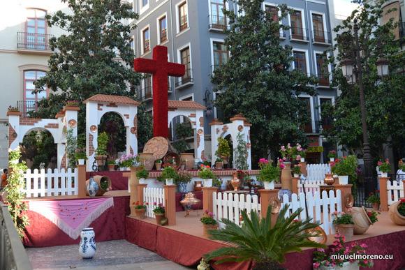 Cruz de la Plaza del Ayuntamiento de Granada