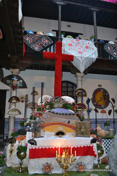 Cruz de la Asociación de Mayores de Granada