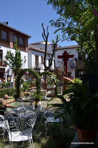 Primer premio de las Cruces de Mayo de Granada 2014