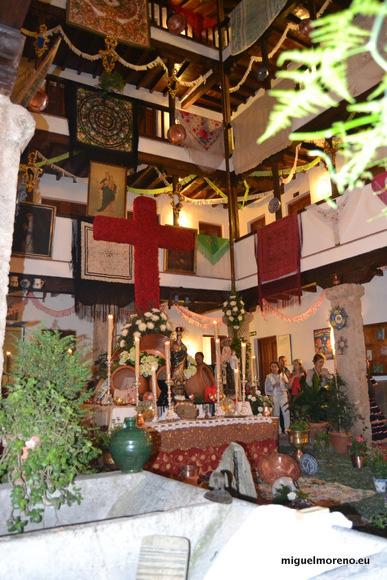 Primer premio de las Cruces de Mayo 2014 en la modalidad de Patios