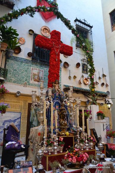 Tercer premio de las Cruces de Mayo de Granada 2014