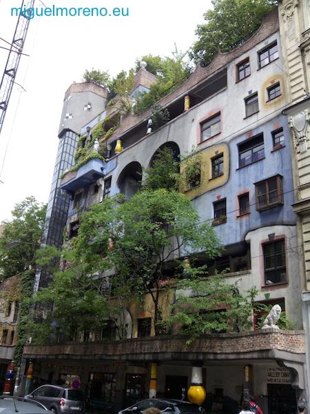 Casas de Colores de Viena - Hundertwasser