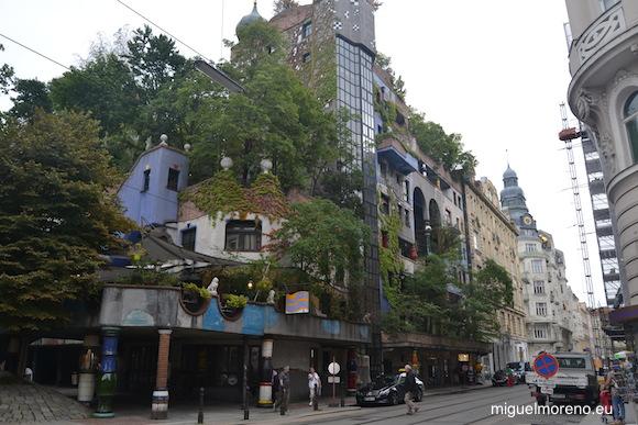 Hundertwasser - bloque de viviendas situado en la calle Kegelgasse del distrito 3 de Viena