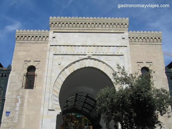 Puerta de las Atarazanas de Málaga