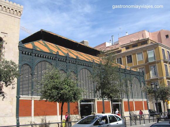 Tejado del Mercado de Atarazanas de Málaga