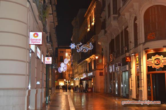 Alumbrado navideño en calle Especería