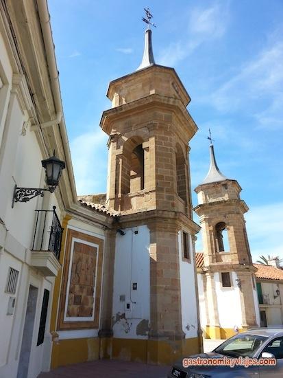 Torres de la Aduana, antigua puerta de entrada de La Carolina