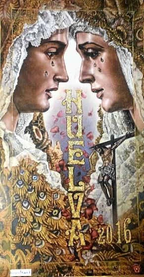 Cartel de la Semana Santa de Huelva 2016