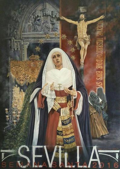 Cartel de la Semana Santa de Sevilla 2016