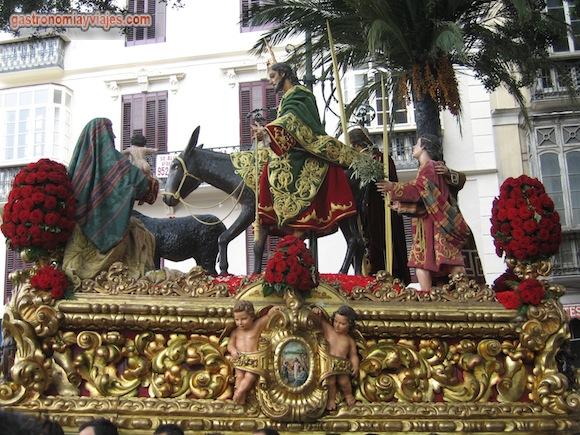 La pollinica de Málaga en la Alameda Principal