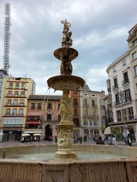 Fuente de Génova en Málaga