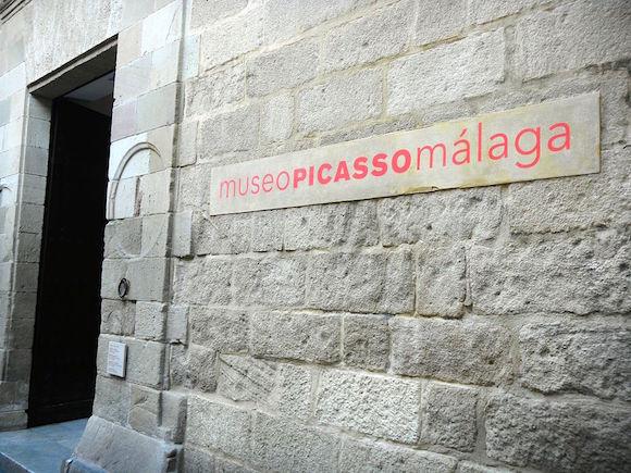 Entrada del Museo Picasso Málaga