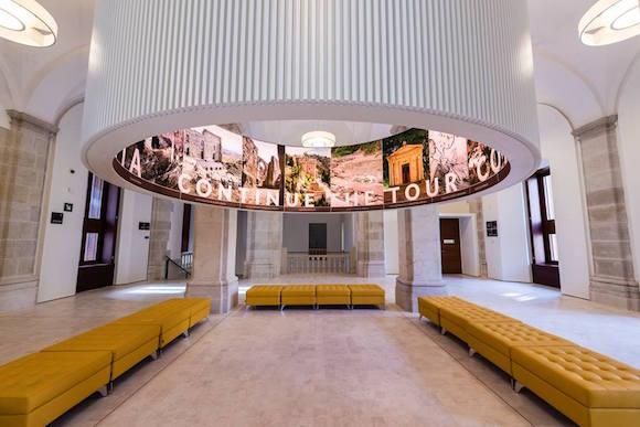 Hall del Museo de Málaga