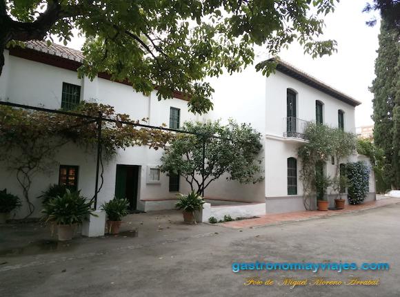 Huerta de San Vicente en el Parque Federico García Lorca