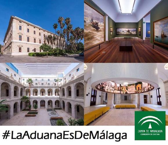 #LaAduanaesdeMálaga